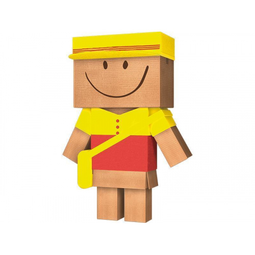 DHL Postal Boxes With Digital Printing