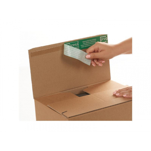 Boxes With Self-Adhesive Closure