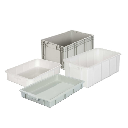 Plastic Stacking Boxes