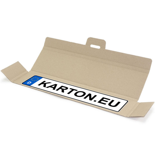 Dispatch Packaging For License Plates