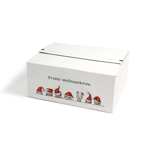 Resealable Boxes With A Christmas Motif