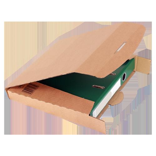 progresscargo ordner transportbox pc din a4 320 x 288 x 50 mm 20 er pack braun. Black Bedroom Furniture Sets. Home Design Ideas