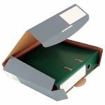 320x288x50 mm Ordner-Transport-Box A4 anthrazit
