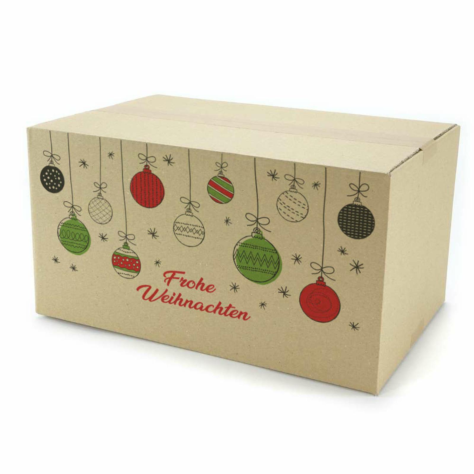 einwellige kartons 380x250x200 mm mit weihnachtsmotiv. Black Bedroom Furniture Sets. Home Design Ideas