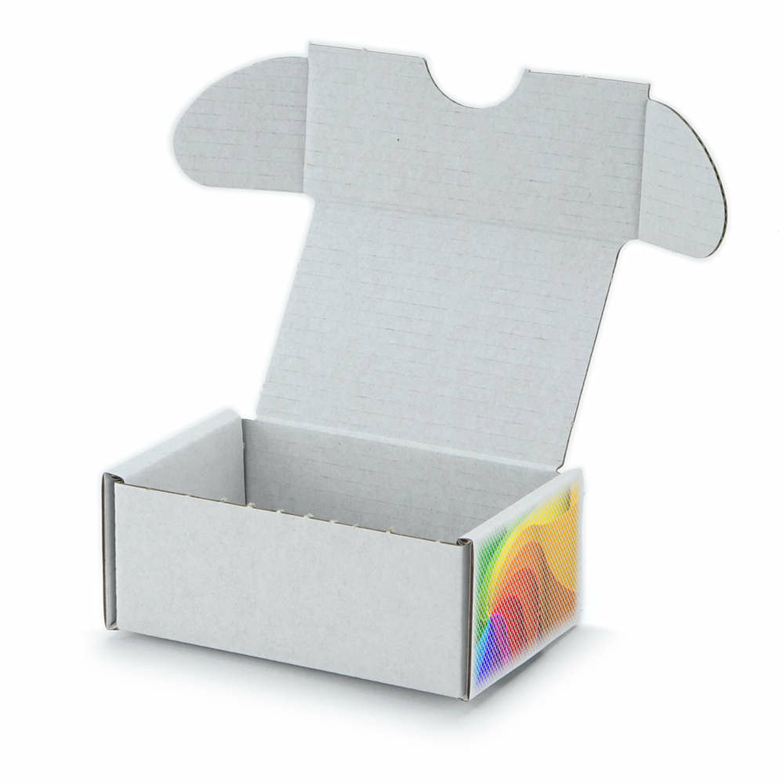90x60x40 Mm Visitenkarten Schachtel Weiß Mit Digitaldruck