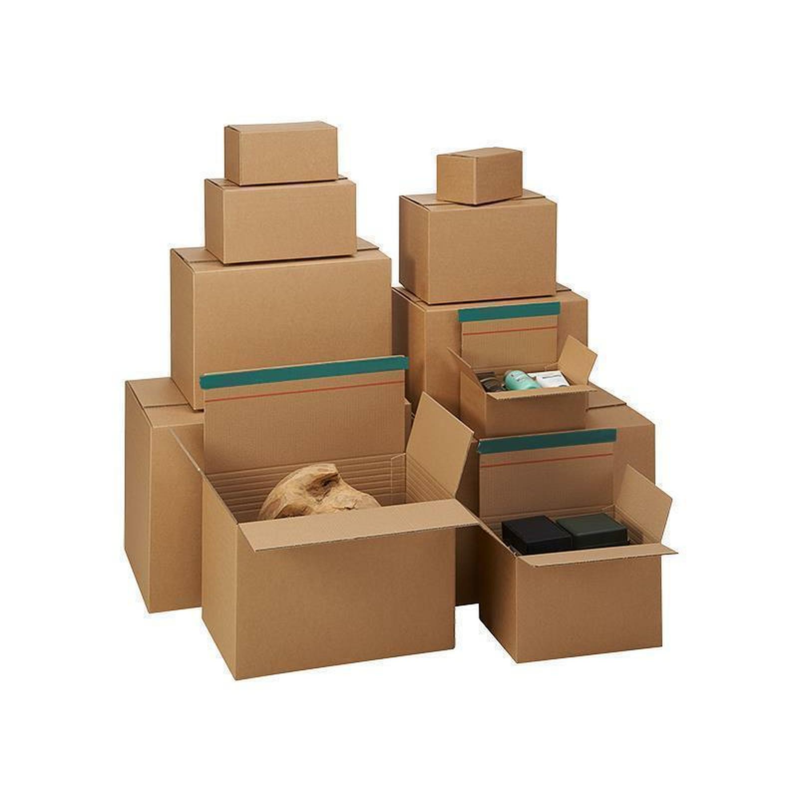 fix aufrichtekartons b3 500x390x215 350 mm g nstig kaufen. Black Bedroom Furniture Sets. Home Design Ideas