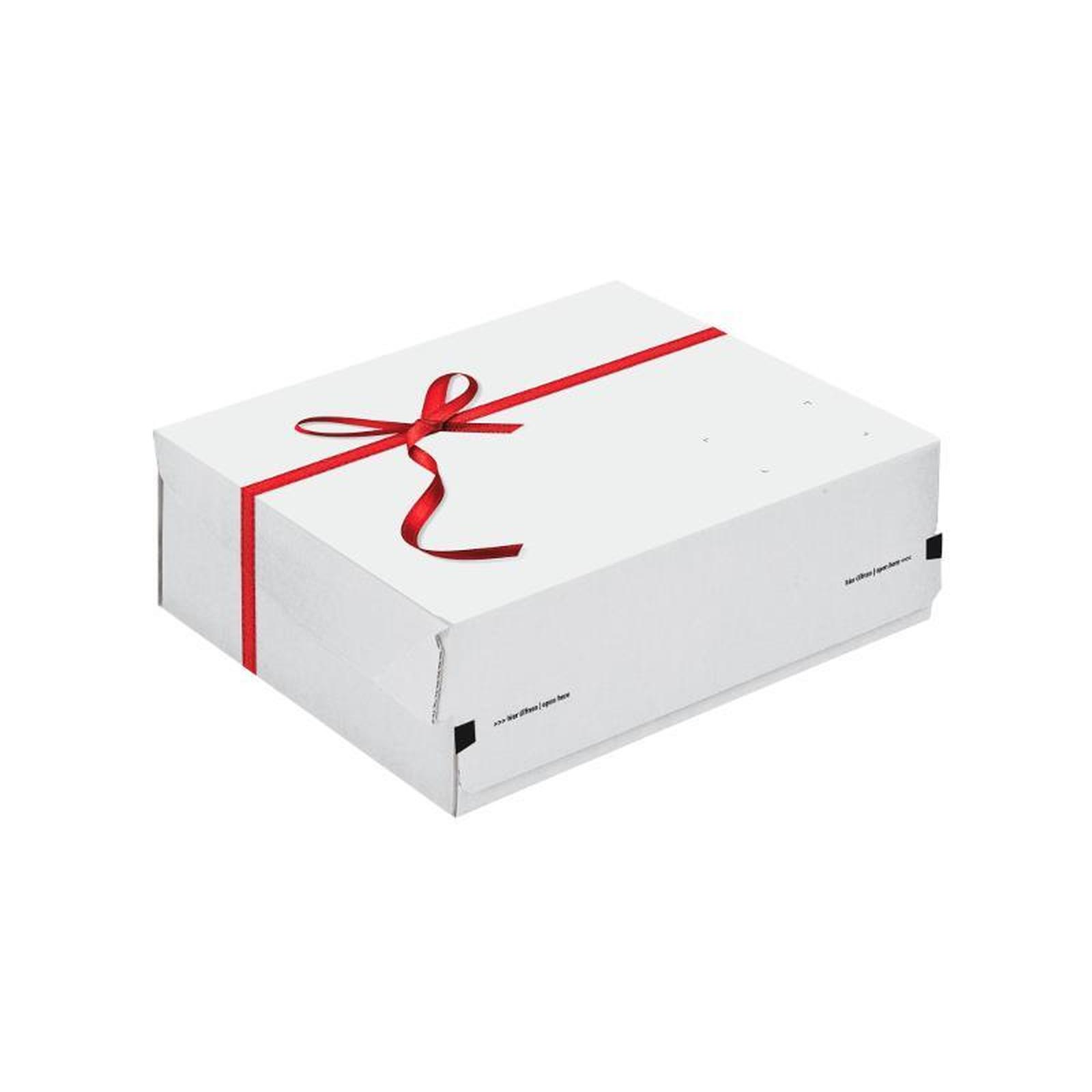 241x166x94 mm geschenkkarton grauwei mit schleife g nstig kaufen 0 96. Black Bedroom Furniture Sets. Home Design Ideas