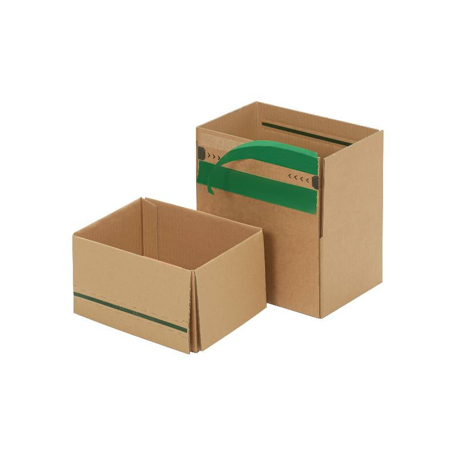 wiederverschlie bare kartons 230x165x115 mm g nstig kaufen 0 39. Black Bedroom Furniture Sets. Home Design Ideas