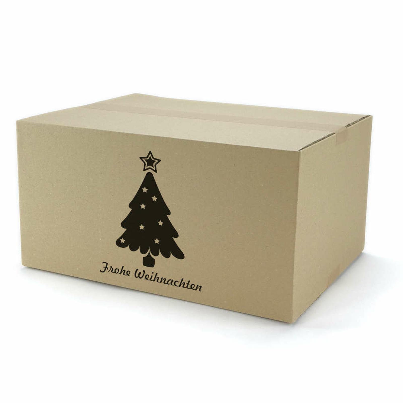 einwellige kartons 400x300x200 mm mit weihnachtsmotiv. Black Bedroom Furniture Sets. Home Design Ideas