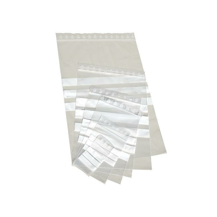 1000 LDPE - Grip Seal Bags With Write-On Panel 120x170 mm, 90 µ
