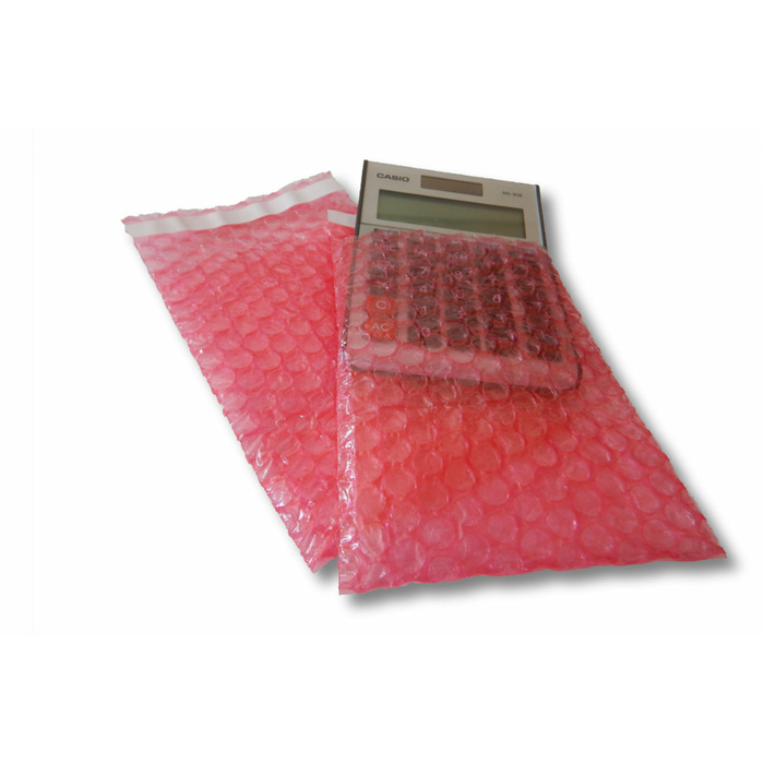 2000 Bubble Wrap Bags Antistatic With Adhesive Seal 120x160 mm, 80 µ