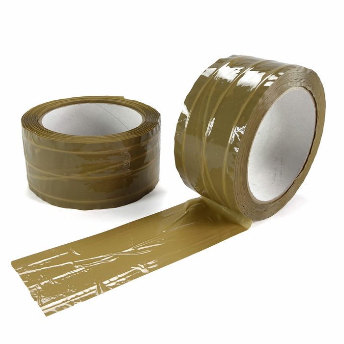 Fibre-reinforced PP- Adhesive Tape Brown