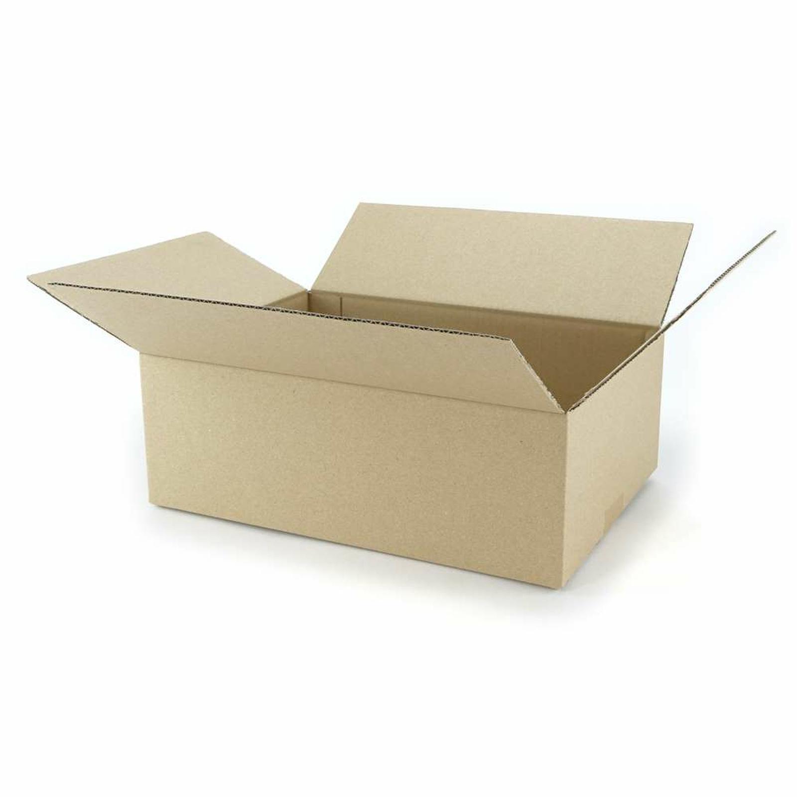 einwellige kartons 350x250x120 mm g nstig kaufen 0 27. Black Bedroom Furniture Sets. Home Design Ideas