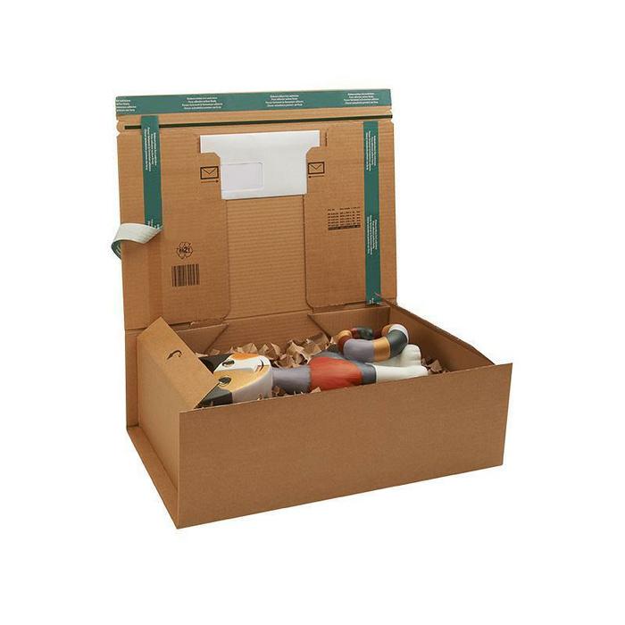 kartons f r den versand von aktenordnern. Black Bedroom Furniture Sets. Home Design Ideas
