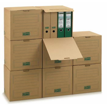 297x334x330 mm Single Wall Archive-Transport-Container