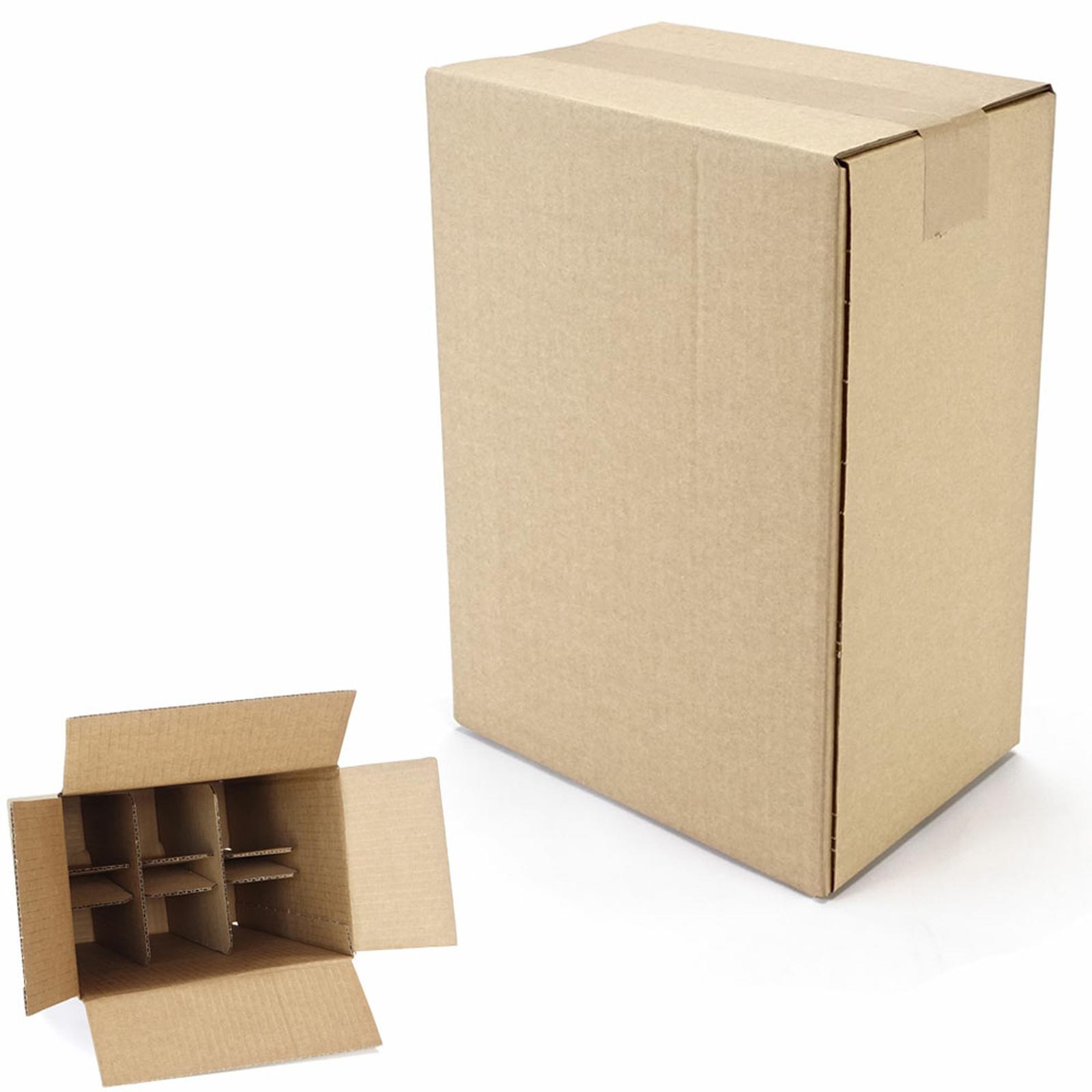 6er flaschenkarton 0 235x160x330 mm g nstig kaufen 0 80. Black Bedroom Furniture Sets. Home Design Ideas